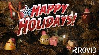 Angry Birds Happy Holidays animated short!