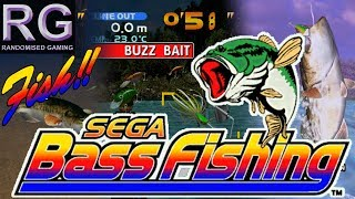 Sega Bass Fishing - Sega Dreamcast - Arcade & Original mode gameplay [HD 1080p 60fps]