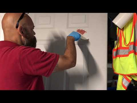 How To Fix A Dented Steel Door