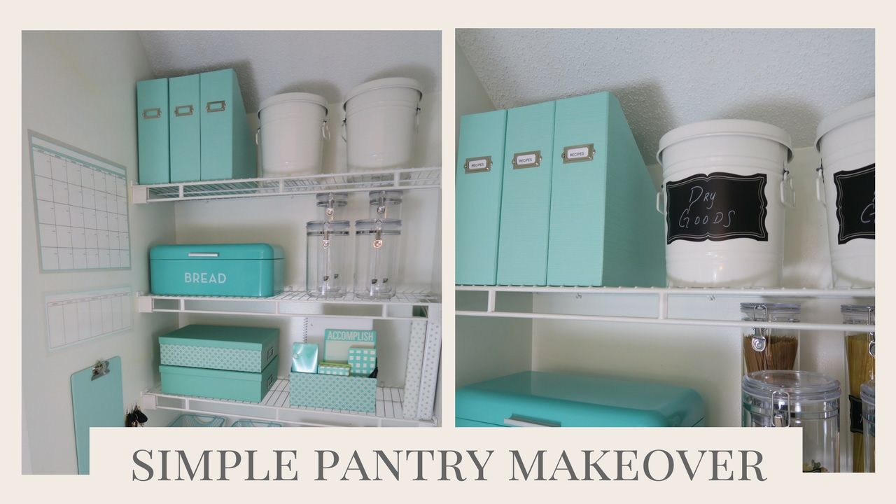 HOME ORGANIZATION | Simple Pantry Organization Ideas - YouTube