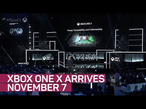 Xbox One X arrives November 7 for $499