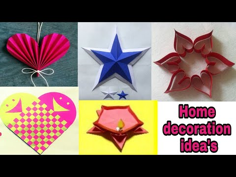 Diwali À¤• À¤² À¤ 5 Diy À¤˜à¤° À¤¸à¤œ À¤µà¤Ÿ À¤¶ À¤² À¤ª À¤µ À¤š À¤° 5 Diy Home Decor Craft Ideas For The Summer Youtube