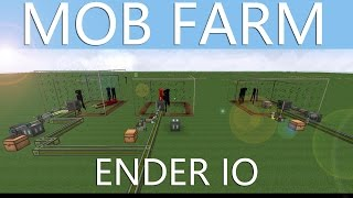 Mob-Farm für ITEMS & XP mit ENDER IO - Minecraft Tutorial [DEUTSCH / GERMAN]