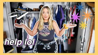 GETTING RID OF HALF MY CLOTHES | MASSIVE CLOSET DECLUTTER