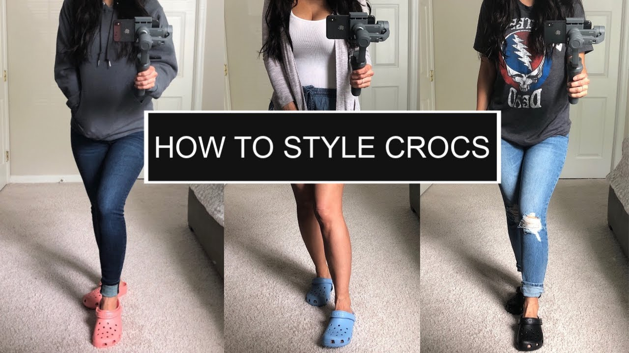 How to Style Crocs   Crocs Try On Haul