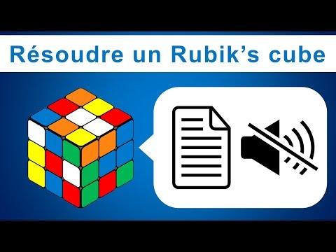 Comment Résoudre Un Rubik's Cube 3x3x3 ? Schémas + Texte (pas De Son)