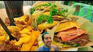 El #EfectoTGB | Probando las nuevas hamburguesas de The Good Burger