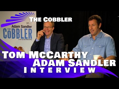 Adam Sandler and Tom McCarthy- The Cobbler Interview Mp3