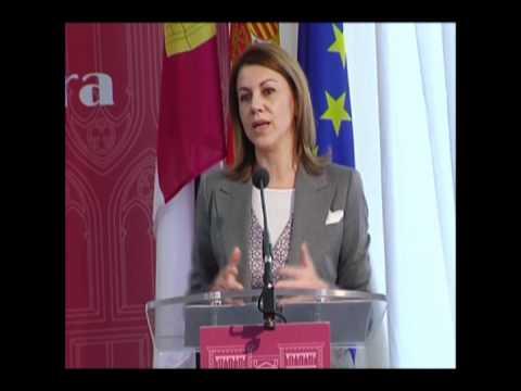 Museodelapalabra.com Doña Maria Dolores Cospedal en la Entrega de Premios de la II Edición