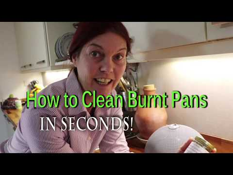 How to Clean Burnt Pans Easily in Seconds