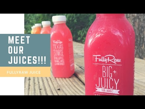 Meet BIG + JUICY!!! | FullyRaw Juice