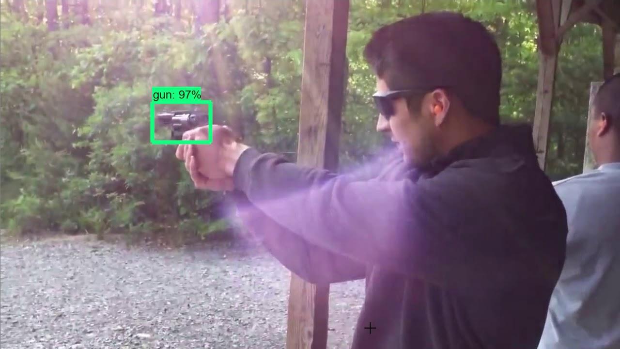 Realtime Gun Detection - Tensorflow