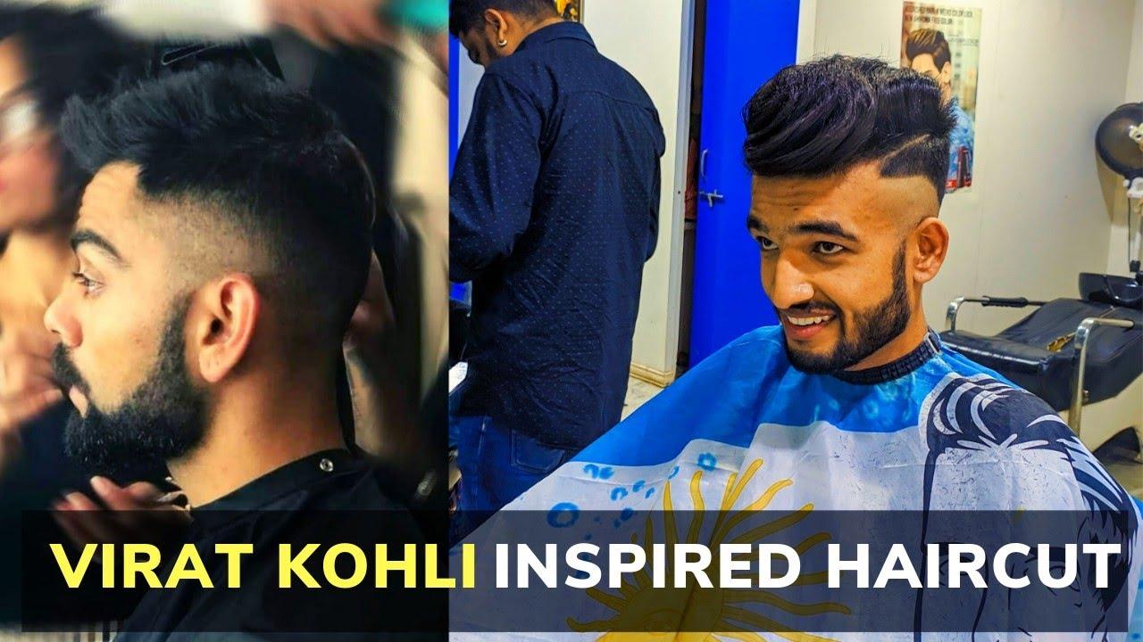 Virat Kohli Inspired Haircut Best Haircut 2019 Youtube