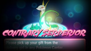 Pokemon ORAS: Contrary Serperior Mystery Gift! Europe & North America