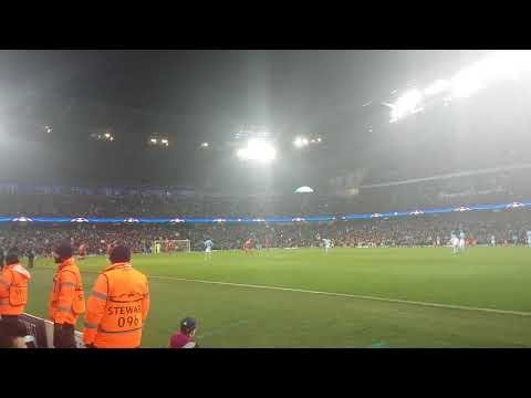Manchester city v Liverpool (Blue moon)