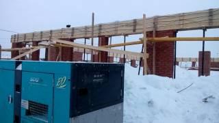 видео трансформатор для прогрева бетона