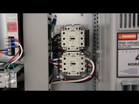 Troubleshoot the Wye-Delta Contactor on your Haas Machine on