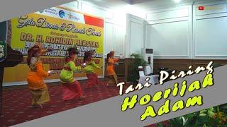 Tari Piring Hoerijah Adam  Tampil di gedung Daerah Bengkulu  Sendratasik UNP