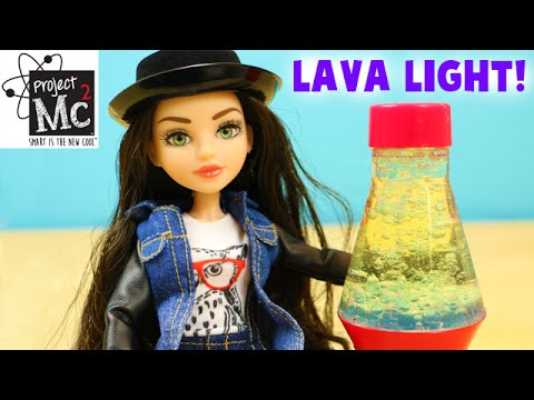 Project Mc2 Mckeyla Mcalister Deluxe Doll With Lava Light