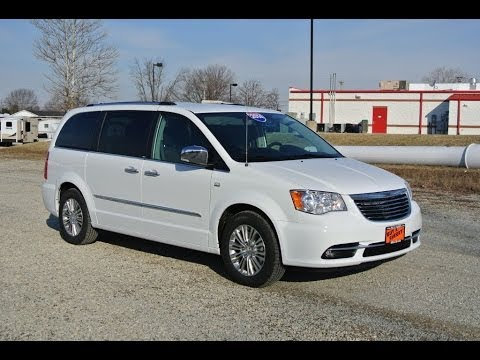 2017 Chrysler Town Country Touring L White For Dealer Dayton Troy Piqua Sidney Ohio 26975t