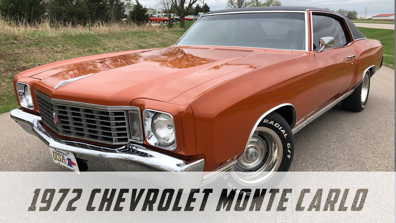 1972 Chevrolet Monte Carlo 350 4 Speed For Sale Stock Number C 0007 Youtube