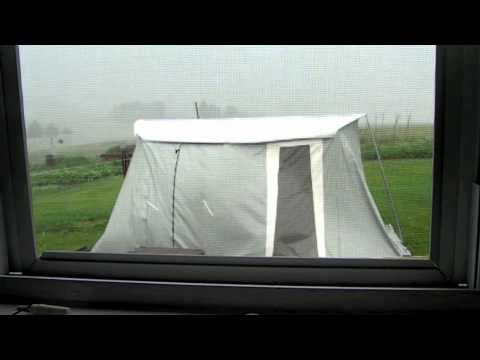 Springbar Tent in High Winds & Springbar Tent in High Winds - YouTube