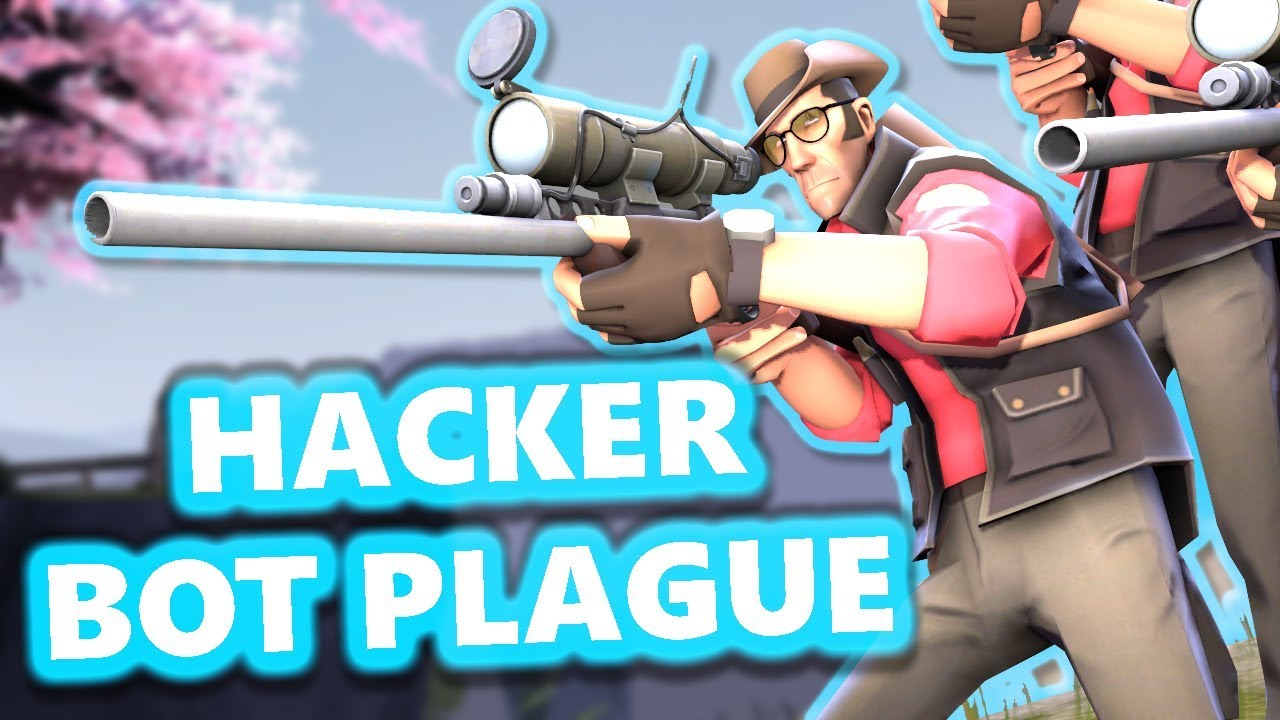 TF2: The Cat-Bot Hack Plague - Aimbot Snipers Everywhere