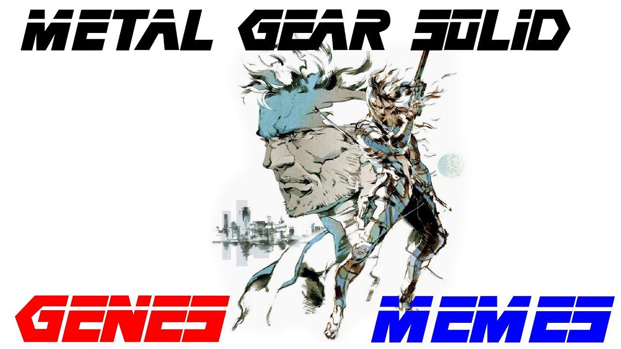 METAL GEAR SOLID │Tribute - Genes╎Memes
