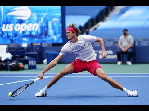 Borna Coric vs Alexander Zverev | US Open 2020 Quarterfinal