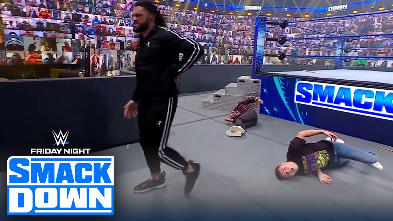 Rey Mysterio calls out Roman Reigns, 'It's your turn to acknowledge' | FRIDAY NIGHT SMACKDOWN