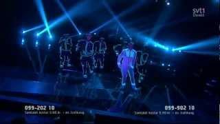 Danny Saucedo - Amazing @ Melodifestivalen 2012 (1080p HD)