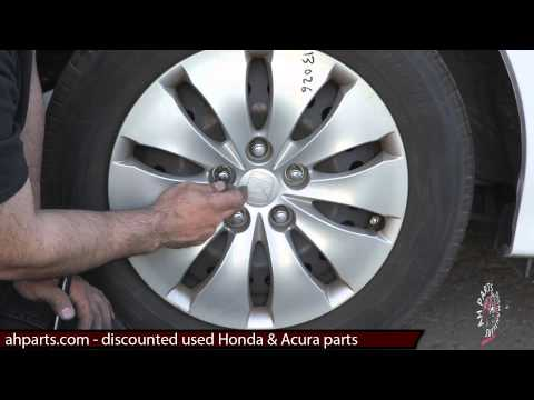 Hub Cap Wheel Cover Replacement for rim - How to replace install change installation instructions