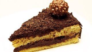 Шоколадно-банановый торт рецепт - Легкие турецкие рецепты