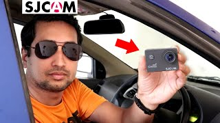 Must For Indian Drivers SJCAM as Dash Cam Sample Videos Installation Best Dashcam for 2020 Hindi