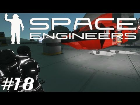 Let's Play Space Engineers S2E18 Prospecting