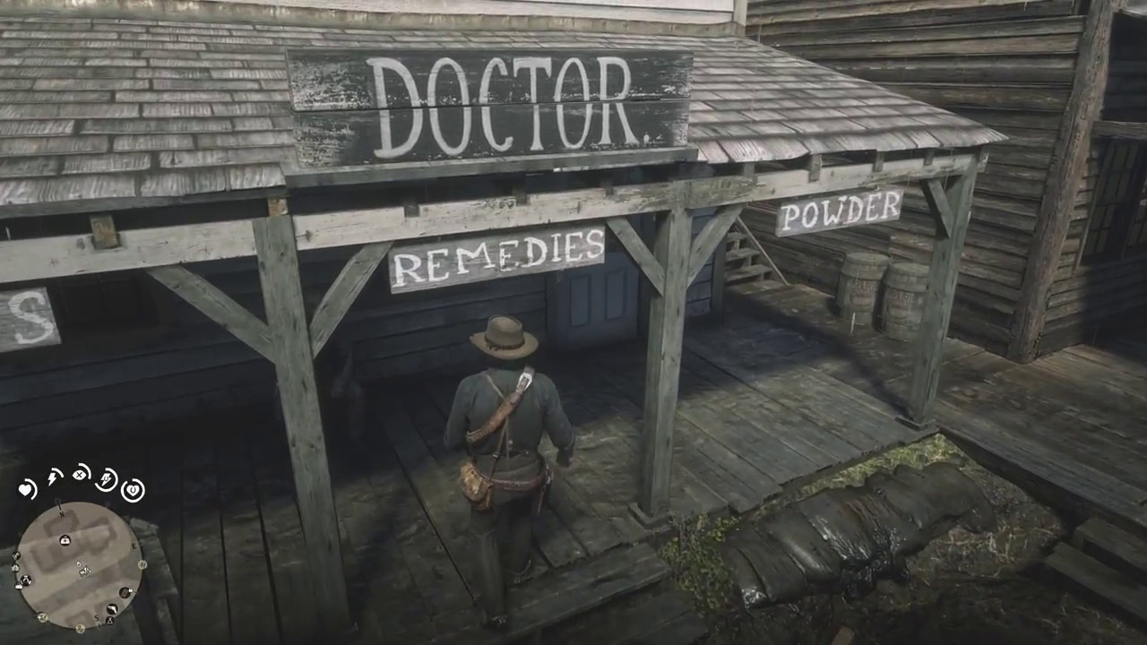 Red Dead Redemption 2 Rob The Valentine Doctor Back Room With Low