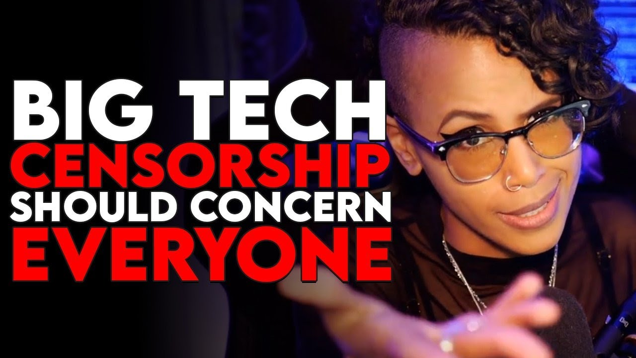 Big Tech censorship should concern EVERYONE #StopCensorship
