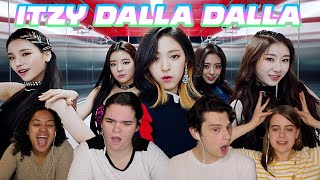 ITZY DALLA DALLA REACTION