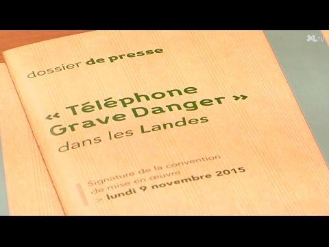 Le Téléphone d'alerte Grave Danger opérationnel dans les Landes