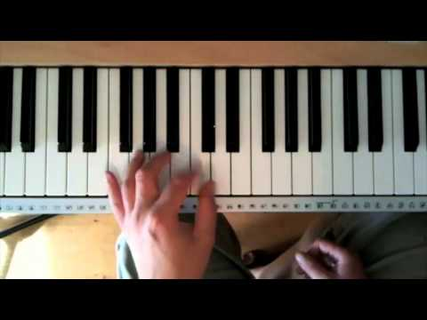 Blues piano tutorial part two the left hand youtube fandeluxe Images