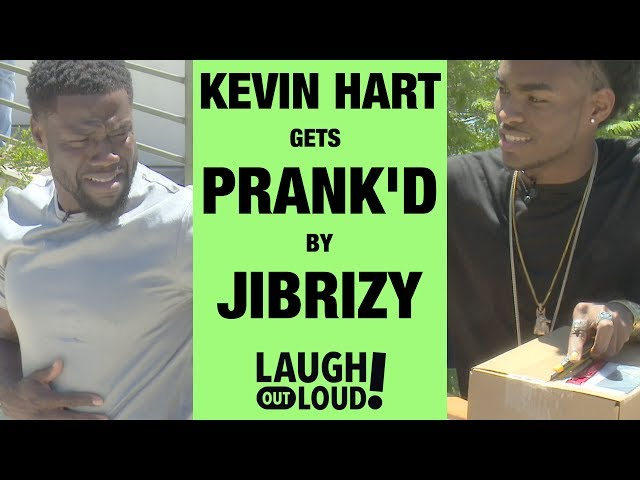 Jibrizy Pranks Kevin Hart   PRANK'D   LOL Network