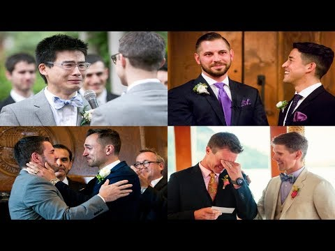 100 Emotional Real Gay Wedding Moments That Will Make You Cry