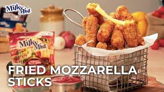 Mozzarella Sticks Recipe | Cheese Mozzarella Sticks | Cheesy Homemade Mozzarella Sticks