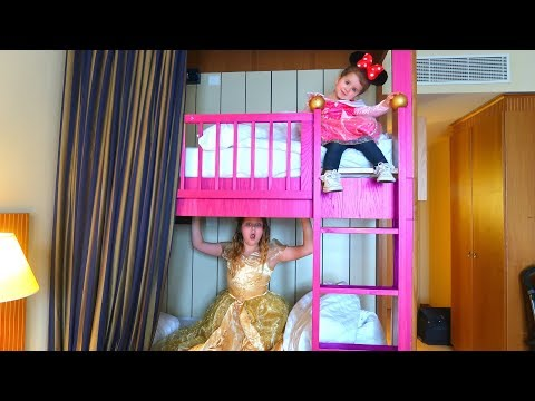 PRINCESS SISTERS MORNING ROUTINE!! Kids Pretend Play Ruby Rube and Bonnie