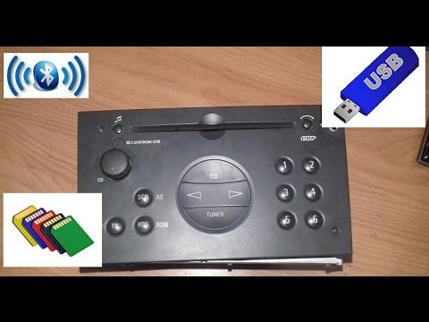USB-bluetooth-SD-CARD- ESTEREO CORSA, MERIVA, OPTRA, ASTRA, OPEL CHEVY CORSA PARTE 1