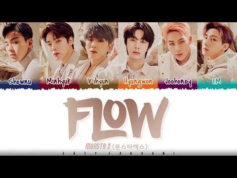 MONSTA X  - 'FLOW' Lyrics [Color Coded_Han_Rom_Eng]