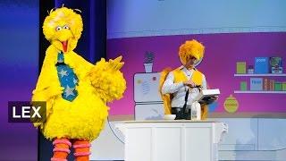 Sesame Street's Big Bird flaps off to HBO | Lex