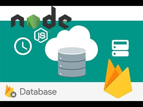 Real time database NodeJs and Firebase restfull Api