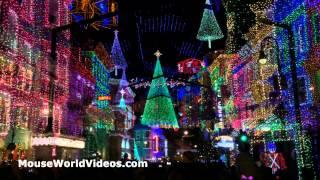 Osborne Family Spectacle of Dancing Lights at Hollywood Studios! Walt Disney World Christmas 2014