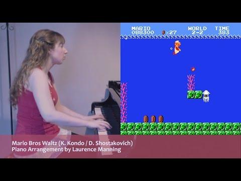 Super Mario x Shostakovich - a Mario Bros Waltz (Classical Piano Arrangement)